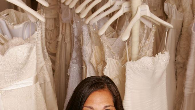 "Debbie, a bridal consultant at Kleinfeld Bridal, on ""Say Yes to the Dress."""