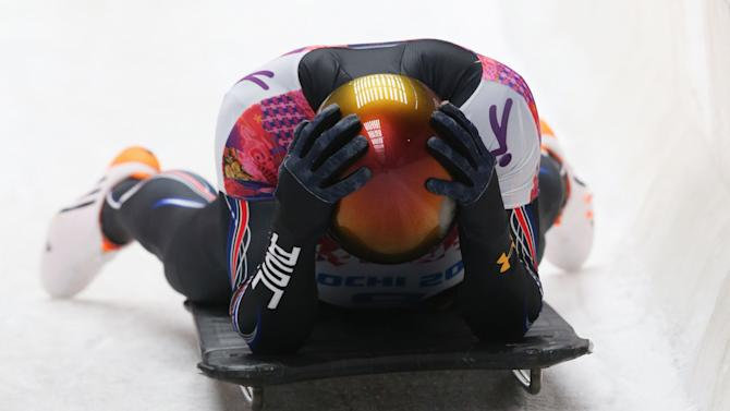 Skeleton - Winter Olympics Day 8