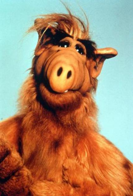 A scene from NBC's 'ALF' -- NBC