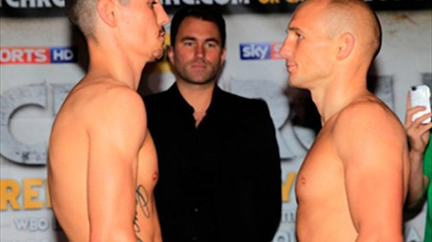 Crolla approaches his toughest test against Rees