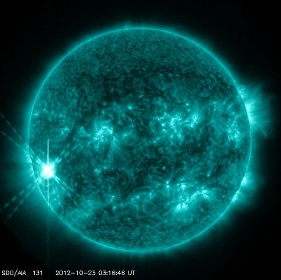 Major Solar Flare Erupts From …