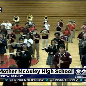 Catholic Schools Team Up For Marching Band