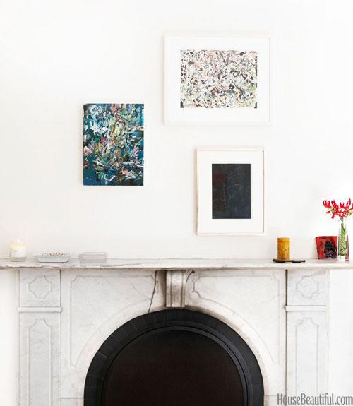 Mix Up Mantel Art