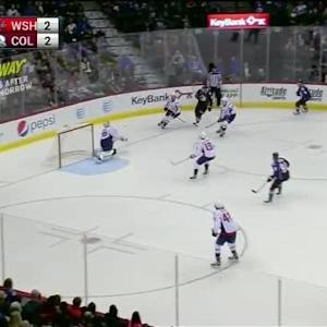 Braden Holtby Save on Daniel Briere (08:18/3rd)
