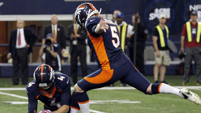 Prater's FG lifts Broncos past Cowboys, 51-48