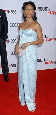 Jada Pinkett-Smith at the Los Angeles premiere of Columbia Pictures' The Pursuit of Happyness