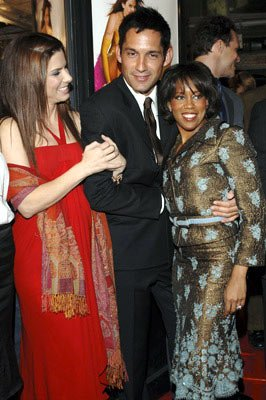 Sandra Bullock , Enrique Murciano Jr. and Regina King at the Hollywood premiere of Warner Bros. Pictures' Miss Congeniality 2: Armed and Fabulous
