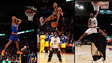James White and Terrence Ross and Jeremy Evans