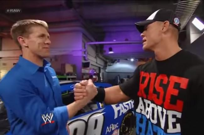 John Cena Will Drive The Pace Car For NASCAR's Daytona 500