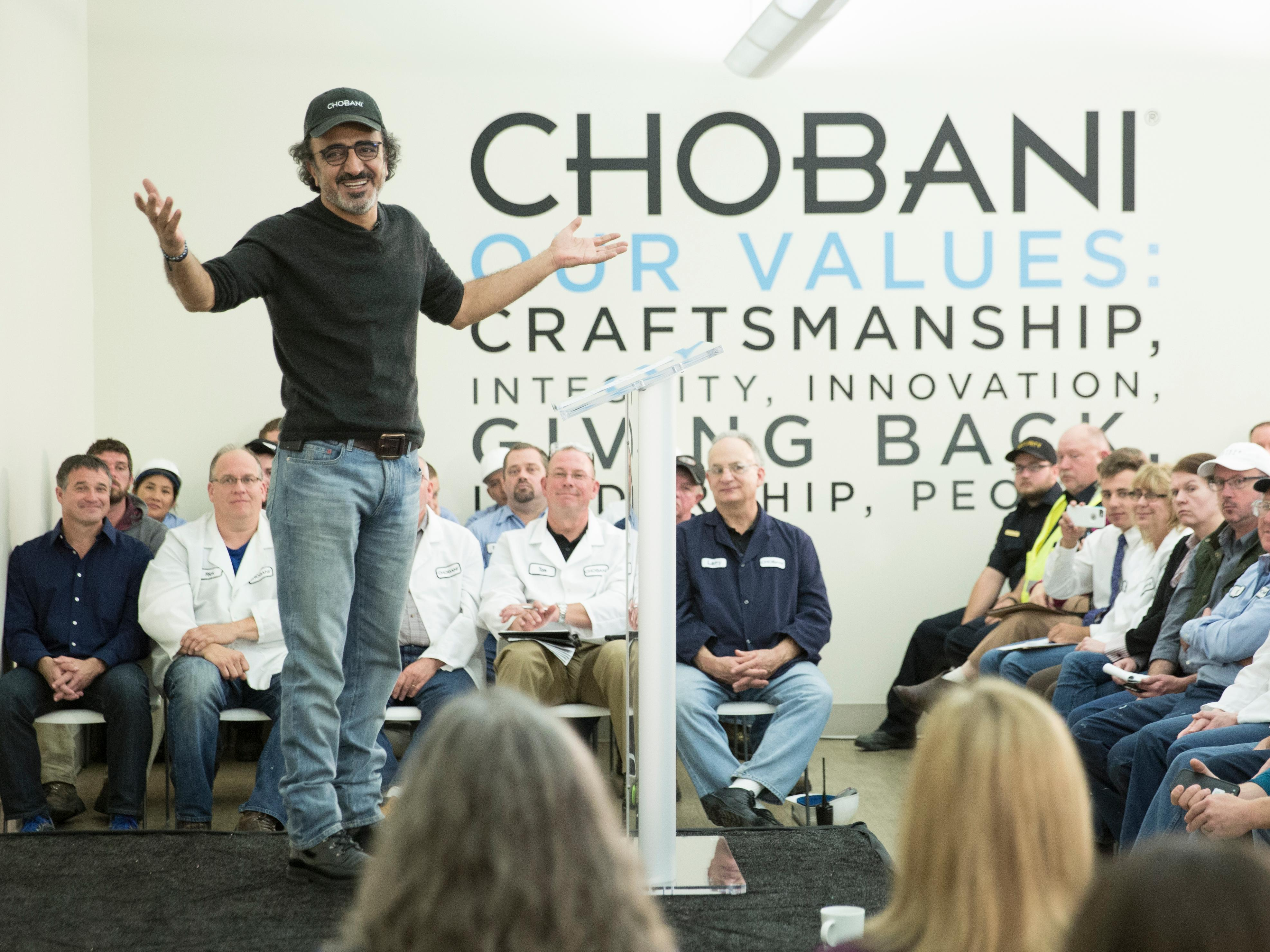 Chobani COO who played a crucial role in the company's turnaround is leaving the yogurt maker