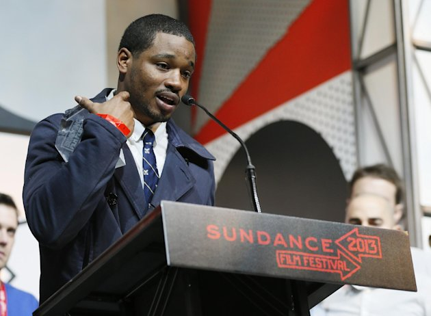 "Director and screenwriter Ryan Coogler accepts the  U.S. Grand Jury Prize: Dramatic for ""Fruitvale"" during the 2013 Sundance Film Festival Awards Ceremony on Saturday, Jan. 26, 2013 in Park City, Utah"