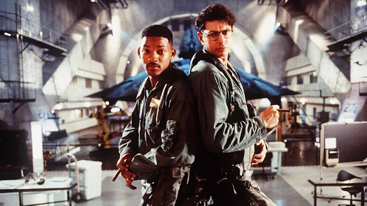 Independence Day 1996 20th Century Fox Production Photos Will Smith Jeff Goldblum