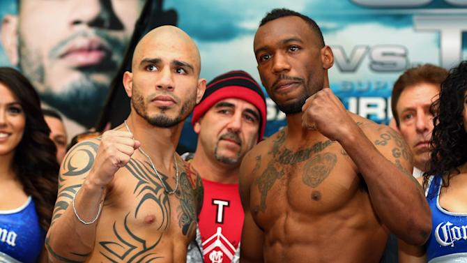 Austin Trout v Miguel Cotto - Weigh In