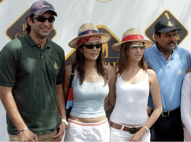 Former Pakistan Cricket captain Wasim Ak