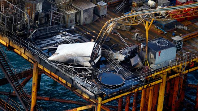 Two Missing in Oil Rig Blast