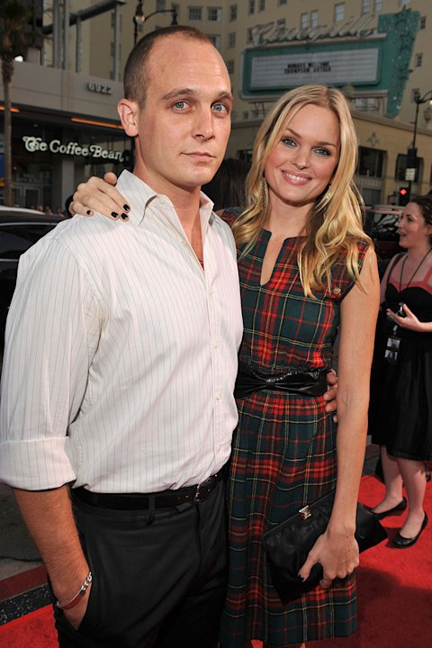 Eagle Eye LA Premiere 2008 Ethan Embry Sunny Mabrey