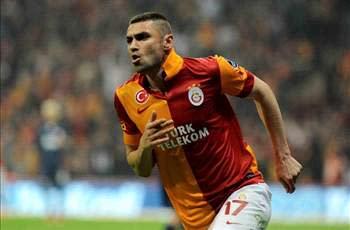 Burak Yilmaz happy to stay with Galatasaray