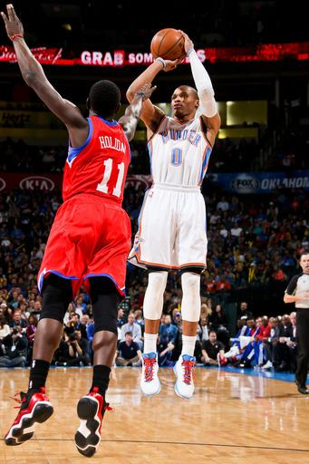 Big second half helps Thunder rout Sixers 109-85