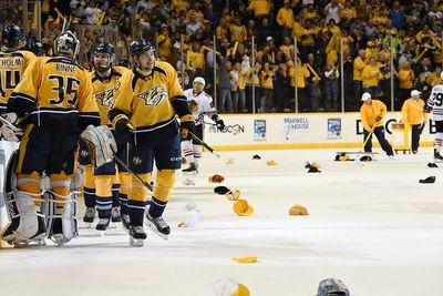 NHL playoff scores 2015: Forsberg scores hat trick as Predators, Canucks stay alive