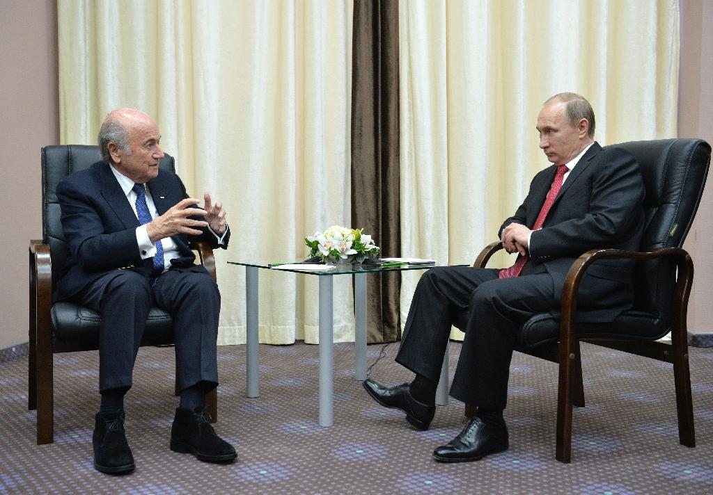 Blatter hails Russia's 'five star' work on World Cup