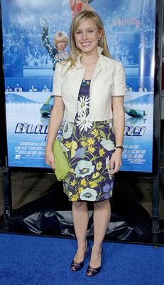Kristen Bell at the Los Angeles premiere of DreamWorks Pictures' Blades of Glory