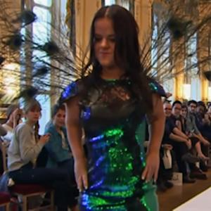 Little Women Walk Runway in Paris