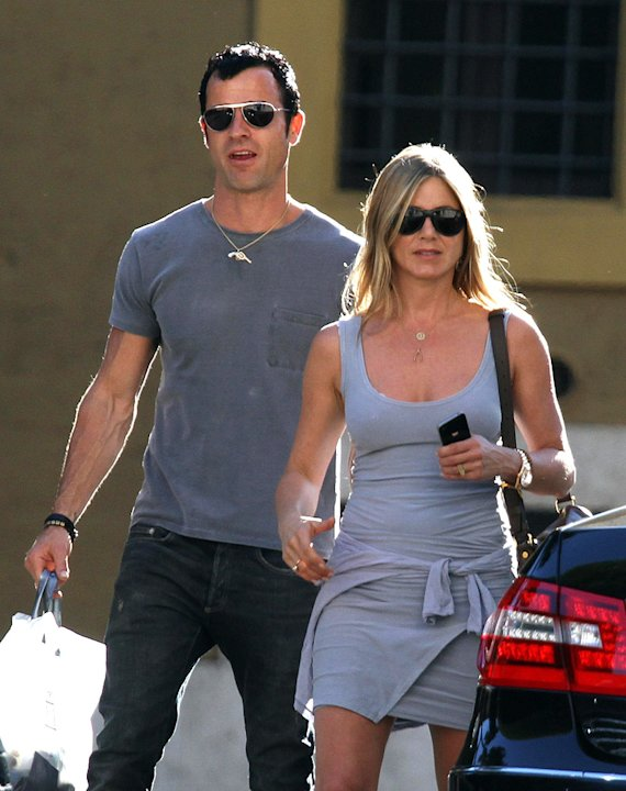 Jennifer Aniston and Jason Trawick