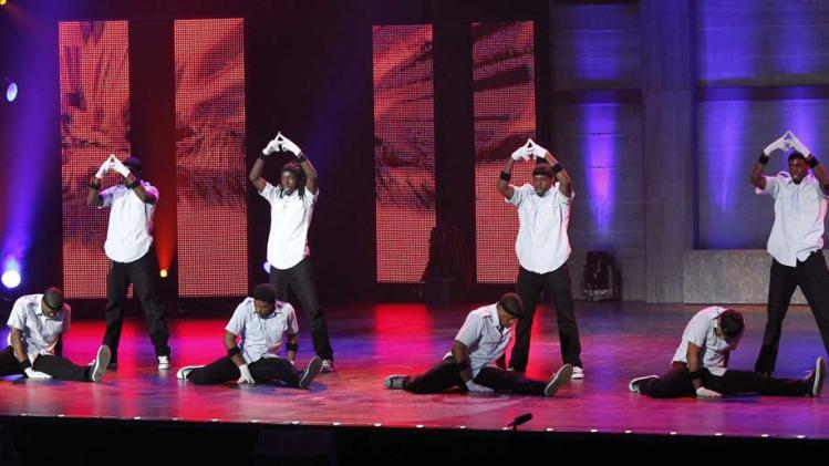 "Attack Dance Crew (drilling dance crew) is one of the Top 48 acts on Season 6 of ""America's Got Talent."""