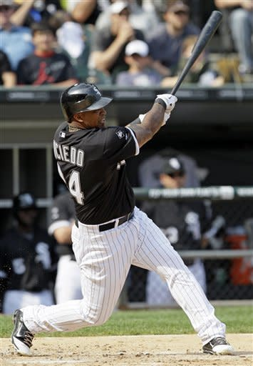 Konerko, Viciedo lead White Sox past Indians, 14-7