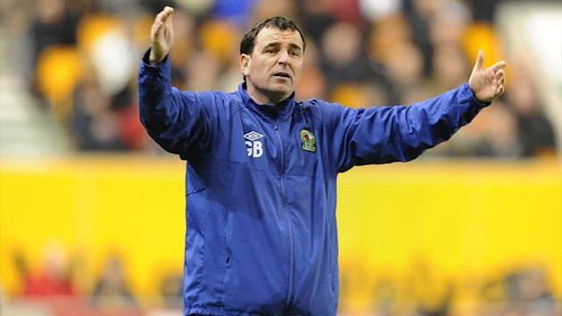 Gary Bowyer signed off as temporary Blackburn manager following a four-game unbeaten streak