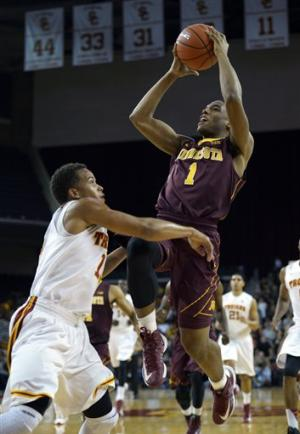 No. 14 Minnesota beats USC 71-57