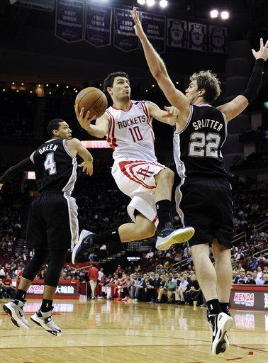 Neal, Parker lead Spurs over Rockets in OT 134-126