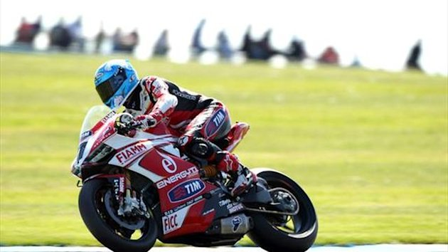 Donington WSBK: Checa ruled out of race two