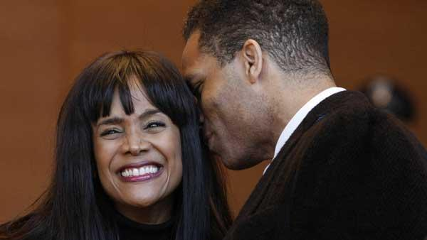 Jesse Jackson Jr., Sandi Jackson arrive at federal court in Washington DC
