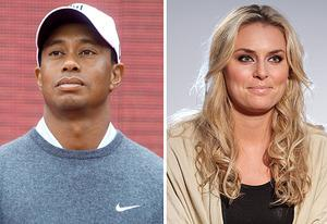 Tiger Woods, Lindsey Vonn | Photo Credits: Hong Wu/Getty Images, Joe Scarnici/Getty Images