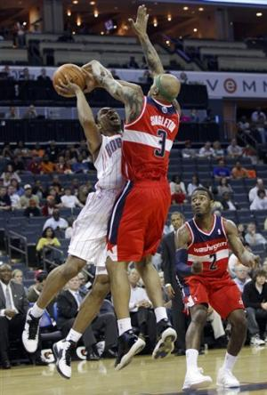 Wizards rout woeful Bobcats 113-85