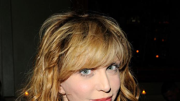 Conviction NY screening 2010 Courtney Love