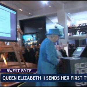 Queen Elizabeth II Sends a Royal Tweet