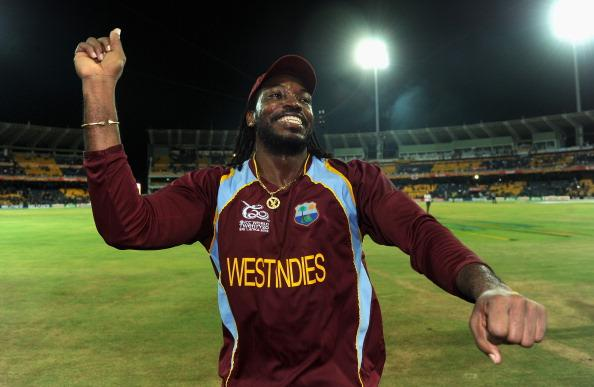 Flamboyant West Indies opener Chris Gayle became the first player to hit a six from the first ball of a Test match when he launched his big-hit against Bangladesh in Dhaka.