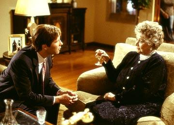 Michael Rosenbaum and Joan Plowright in Touchstone's Bringing Down The House