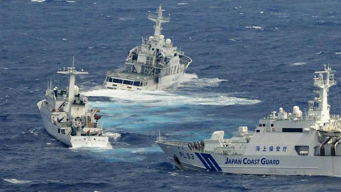 China relentlessly harries Japan in island dispute