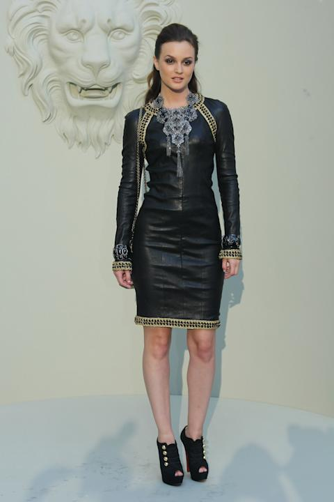Leighton Meester at Chanel
