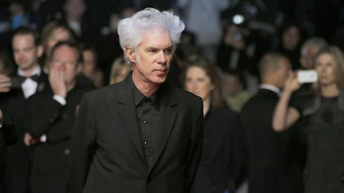 Director Jim Jarmusch arrives for the screening of Only Lovers Left Alive at the 66th international film festival, in Cannes, southern France, Saturday, May 25, 2013. (AP Photo/Lionel Cironneau)