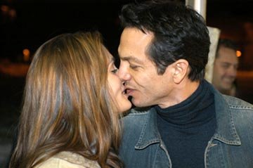 "Talisa Soto and Benjamin Bratt ""The Machinist"" premiere - 1/18/2004 Sundance Film Festival"