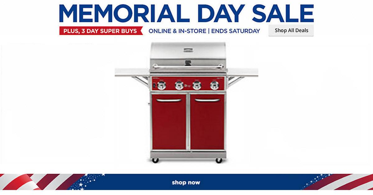 Sears® Memorial Day Sales Event!