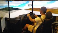 Truck drivers will be behind the wheel of a simulator as part of a multi-year study that will examine their driving habits.