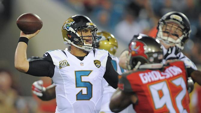 Bortles solid in preseason debut against Bucs