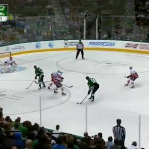 Jaroslav Halak Save on Jamie Benn (04:04/3rd)