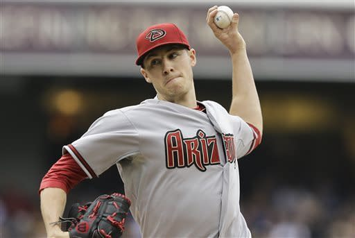 Corbin lifts Arizona over San Diego 8-1