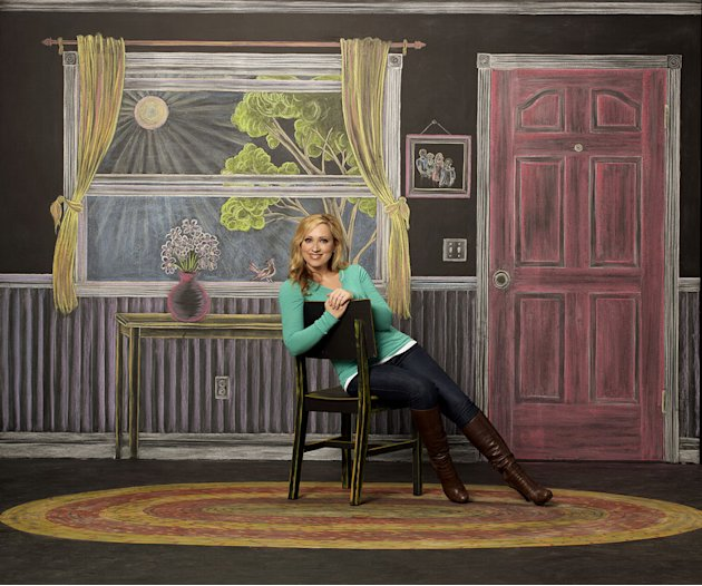 "Leigh-Allyn Baker stars as Amy Duncan on ""Good Luck Charlie."""